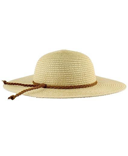 f425c273b53f0 Amazon.com  RuffleButts Girls Floppy Straw Wide Brim Sun Hat - 6+ ...