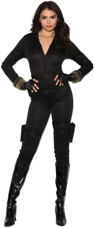5 pc costume includes jumpsuit utility belt with holsters belt Secret Agent