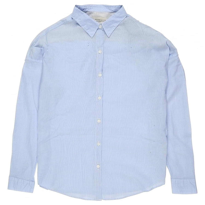 Maison Scotch Relaxed Fit Cotton Shirt