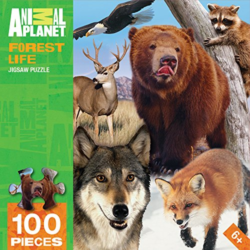 MasterPieces Animal Planet Forest Life Puzzle (100 Piece)