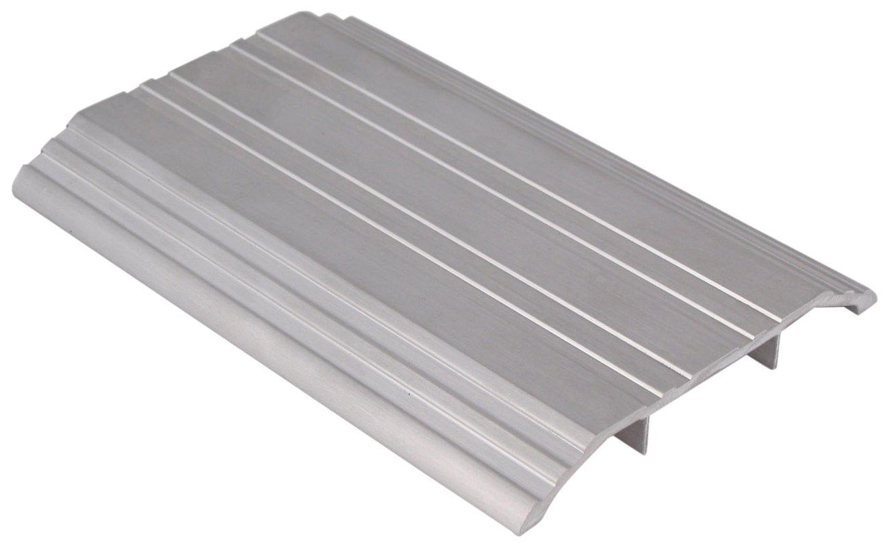 Pemko 085557 170A48 Saddle Threshold, Mill Finish Aluminum, 4'' width, 48'' Length, Aluminum