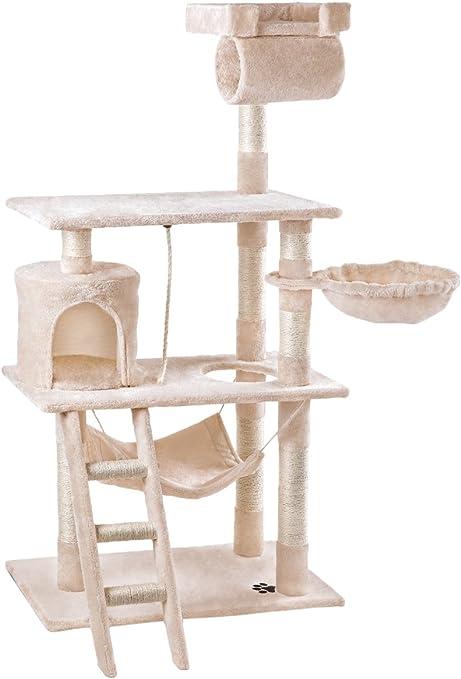 RASCAT- Rascador Gato centro de juegos y descanso Árbol Gatos de ...