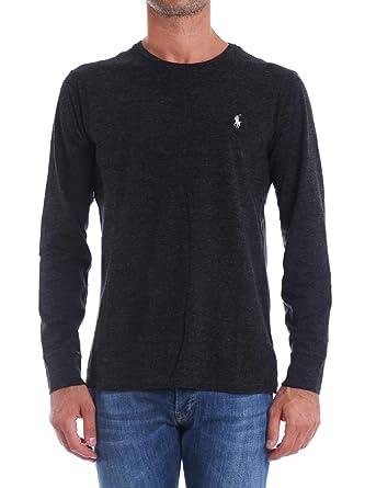Polo Ralph Lauren T-Shirt in Cotone Custom Slim-Fit Uomo Mod ...