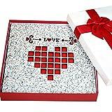 Wood diy album / handmade photo album album / paste couples baby growth album (29 29 1.2cm) ( Color : 7 )