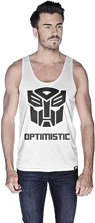 Creo Optimus Super Hero Tank Top For Men - L