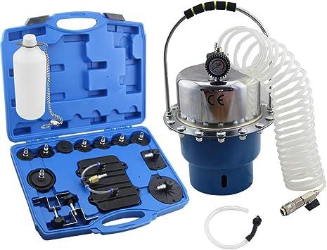 Pneumatic Air Pressure Brake Bleeder Kit Portable Fluid Extractor Bleeding Tool