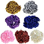10PCSLOT-Artificial-Fake-Foam-Rose-Flowers-Bridal-Wedding-Bouquet-Bunch-Home-Decor