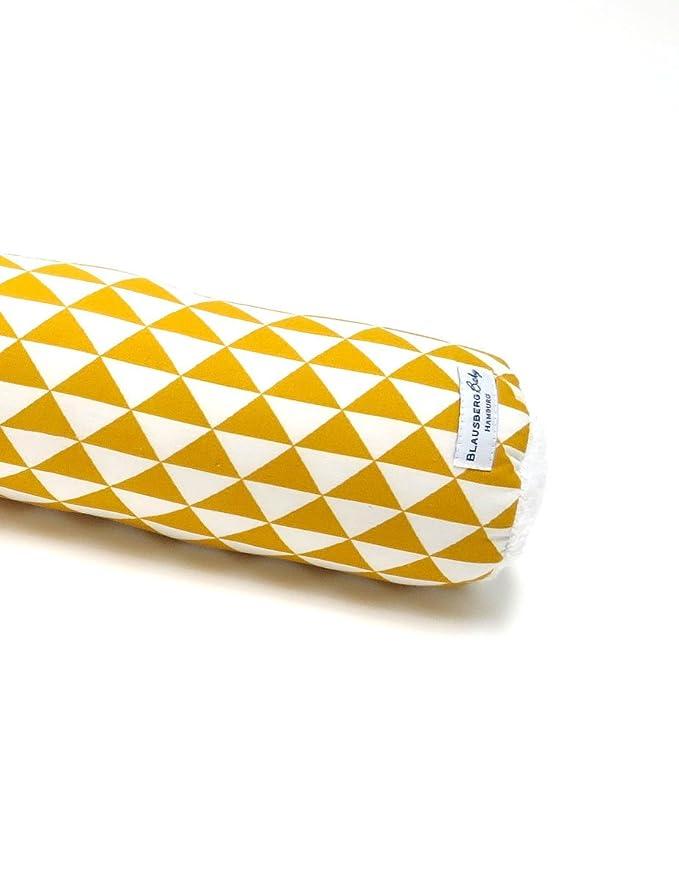 60 cm - tutti i materiali certificati Oeko-Tex/® Standard 100 Letto paracolpi 100/% prodotti in Germania lettino Grigio stella Blausberg Baby cuscino neonato in forma di serpente per il bordo del letto