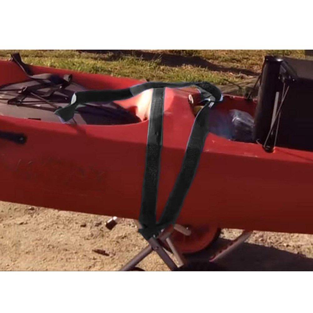 Wgwioo Carrito De La Canoa del Carro del Kayak Carro del Transporte del Portador De La Canoa del Carro del Remolque,47.5 * 34CM: Amazon.es: Deportes y aire ...