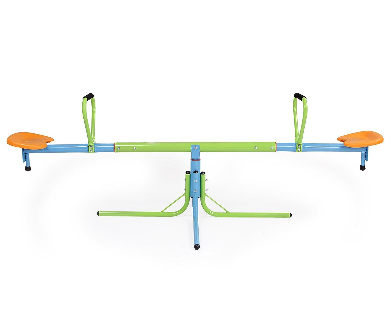 Kinderwippe Metall drehbar verstellbar Wippschaukel Spielgerät Karussell