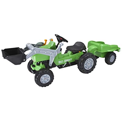 "BIG 800056525 ""Jimmy with Loader Children's Tractor: Toys & Games"