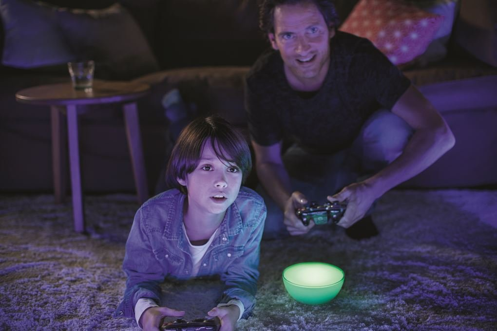 Philips Hue Go White and Color Portable Dimmable LED Smart Light Table Lamp (Requires Hue Hub, Works with Alexa, HomeKit and Google Assistant) by Philips Hue (Image #10)