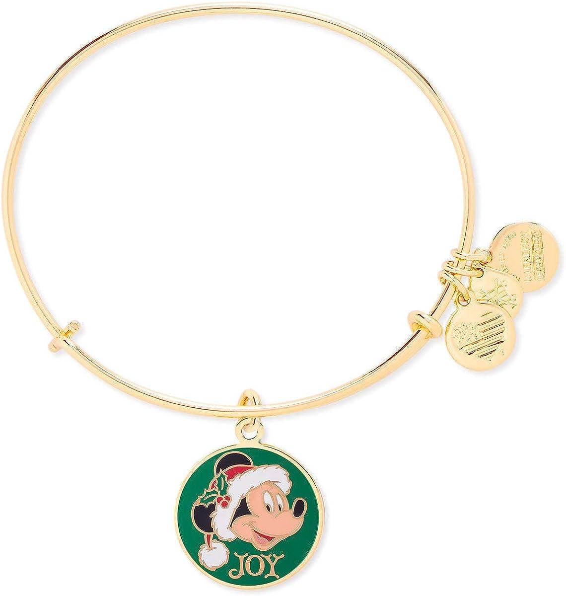 Disney Parks Alex /& And Ani 2021 Mickey Mouse Silver Bracelet