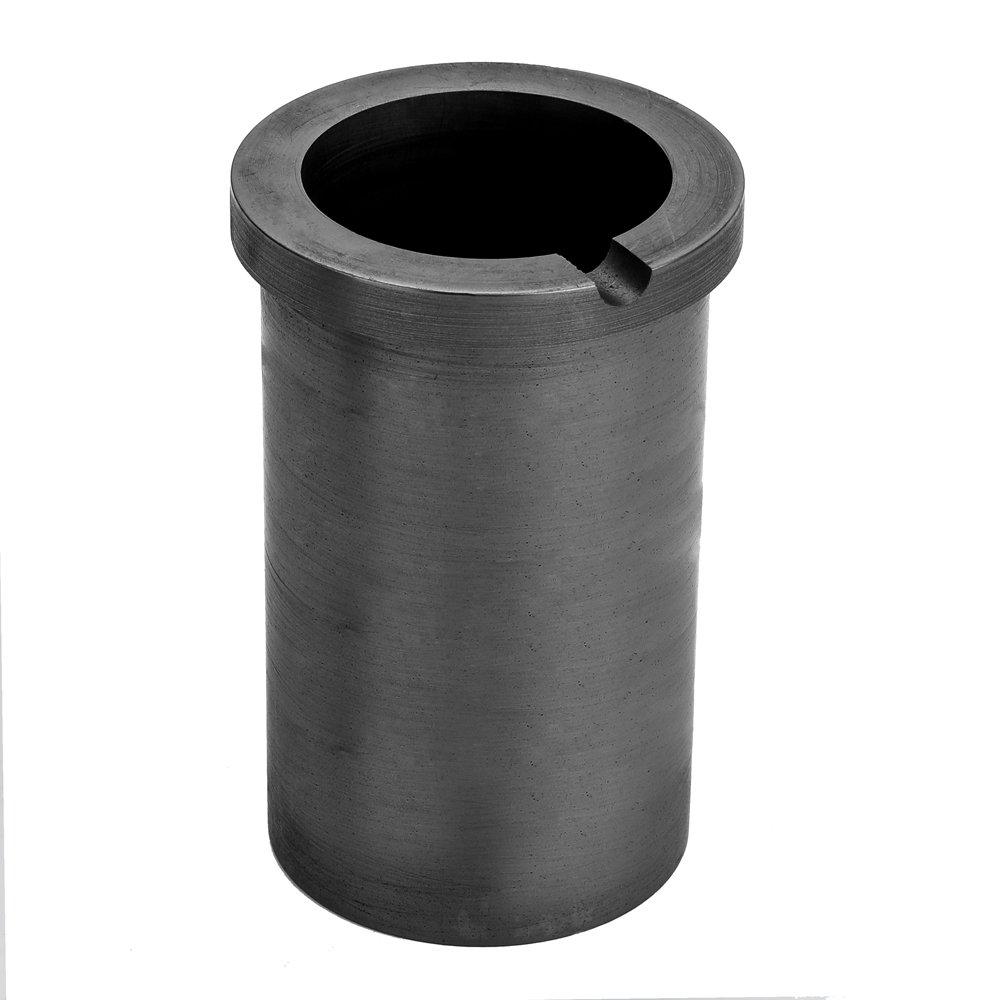 KKmoon de alta pureza de fusió n Crisol de grafito para dorado y plateado Metal de fundició n herramientas de alta temperatura