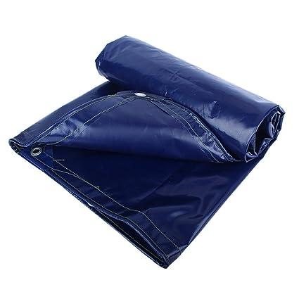 550G zhangpeng Tenda Militare Di Qualità Militare Impermeabile Protezione Solare Tetto Anti-freddo Poliestere Anti-invecchiamento Isolamento Freddo Tenda Blu M2 18 Dimensioni Tra Cui Scegliere