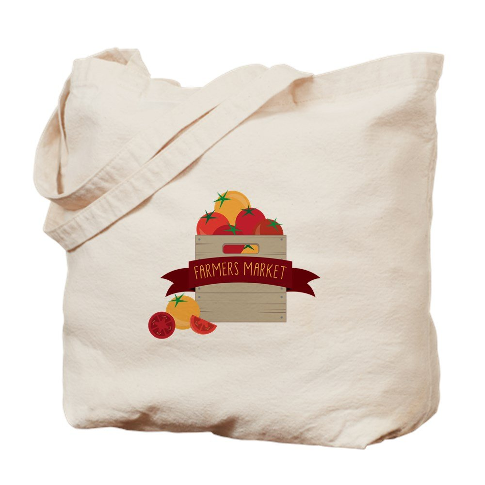 CafePress – Farmers Market – ナチュラルキャンバストートバッグ、布ショッピングバッグ B06VWT627M
