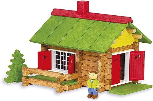 maison en bois jouet construction