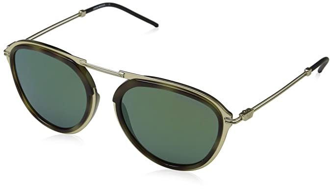 d9311c6067c9 Amazon.com  Emporio Armani EA2056 30026R Mt Pale Gold Green Havana ...