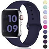 DaQin Band Compatible with Apple Watch 38mm 42mm for Women and Men, Sport Wristbands for iWatch Series 3 Series 2 Series 1, S/M, M/L