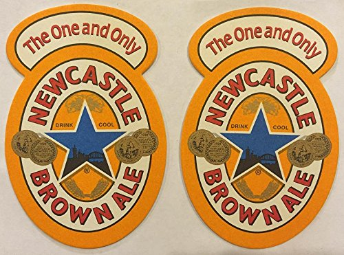 Newcastle Brown Ale The One and The Only 20 Beer Bar Pub Coasters New (Ale Newcastle Brown)