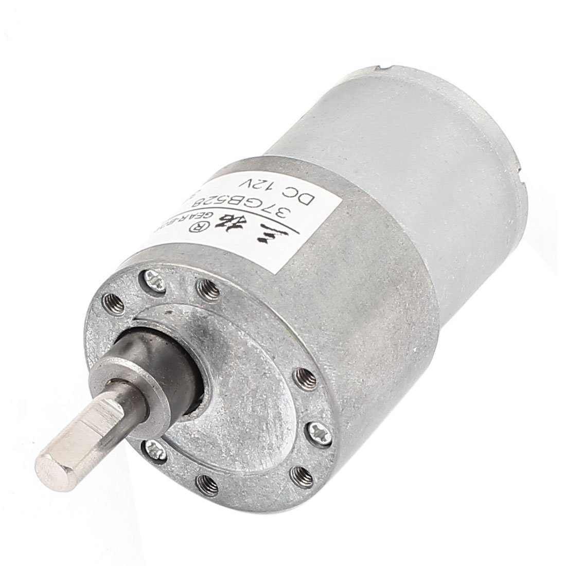 uxcell DC12V 38RPM High Torque DC Gear Box Reducer Variable Speed Motor