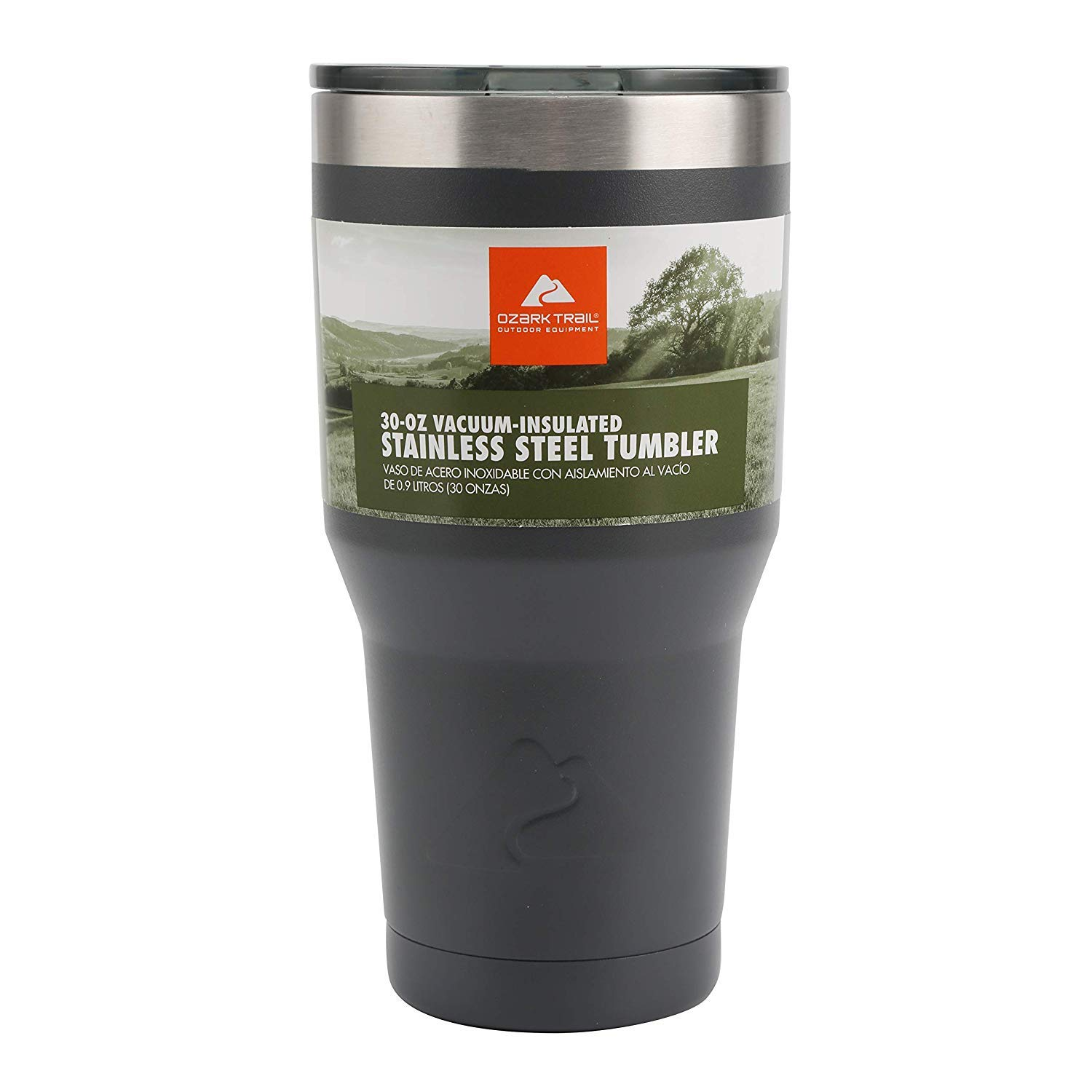 30-Ounce Sealed Tumbler (1-Piece, Gray)