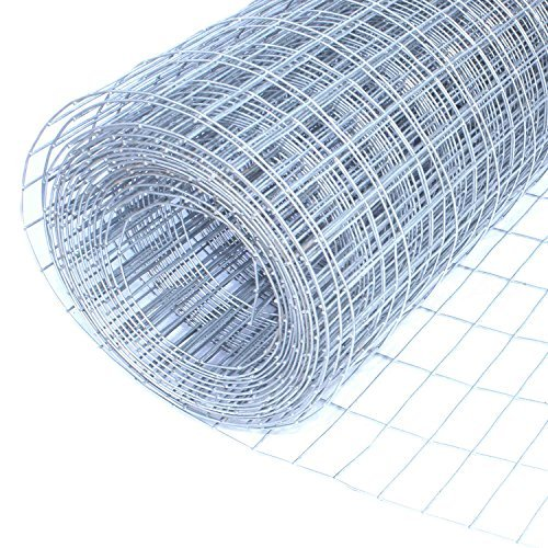 - ALEKO Mesh Wire Roll Concrete Reinforcement Mesh 30 Inches Height, 10 Feet Length 16 Gauge Steel 1/2 x 1 Inch Mesh
