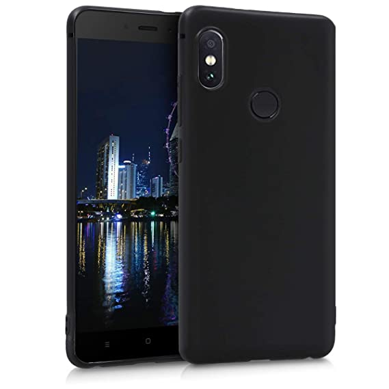 new product 06c5a 1f2b5 Amazon.com: kwmobile TPU Silicone Case for Xiaomi Redmi Note 5 ...