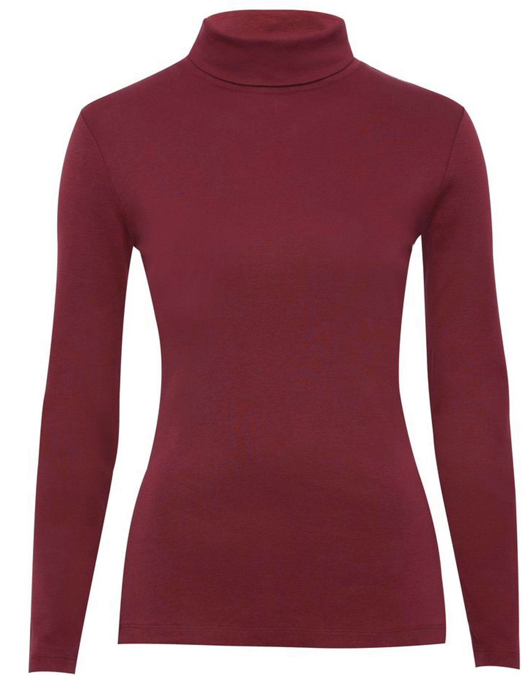 GUBA Big Girls' Long Sleeve Turtle Polo Neck Top High Roll Neck Top Jumper