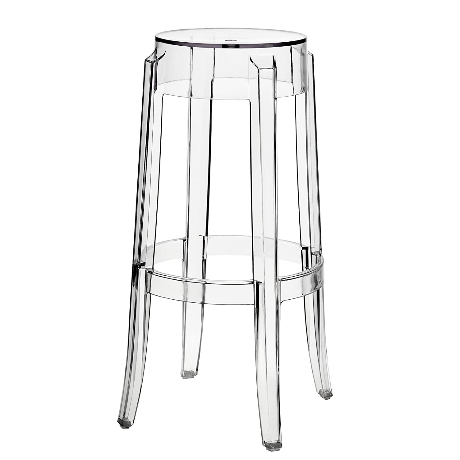 Amazon.com Modway Casper Bar Stools Set of 2 in Clear Kitchen u0026 Dining  sc 1 st  Amazon.com & Amazon.com: Modway Casper Bar Stools Set of 2 in Clear: Kitchen ... islam-shia.org