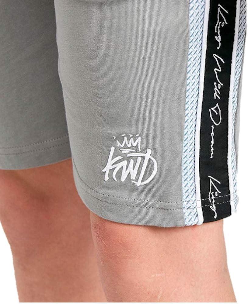 Kings Will Dream Junior Grid Shorts Grey