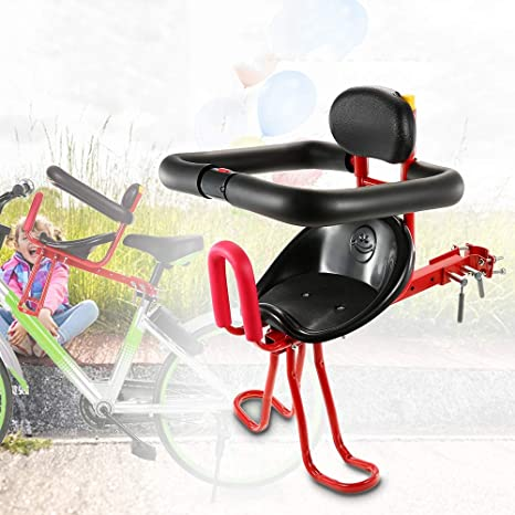 Asiento delantero asiento de bicicleta infantil, portabebés ...