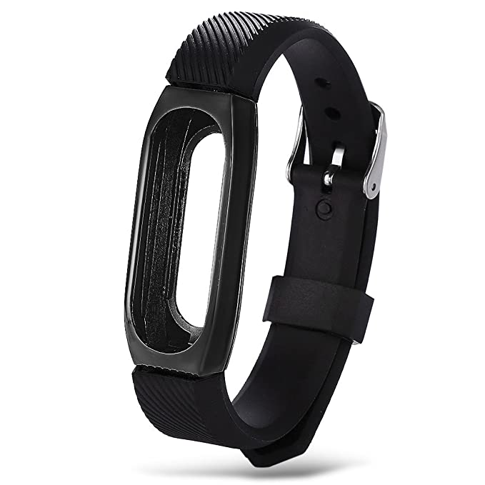 para Xiaomi Mi Band 2 Correa de Reloj, Pulsera de Metal con Estilo de Pulsera de Metal Pulseras Correa Correa de Repuesto: Amazon.es: Ropa y accesorios