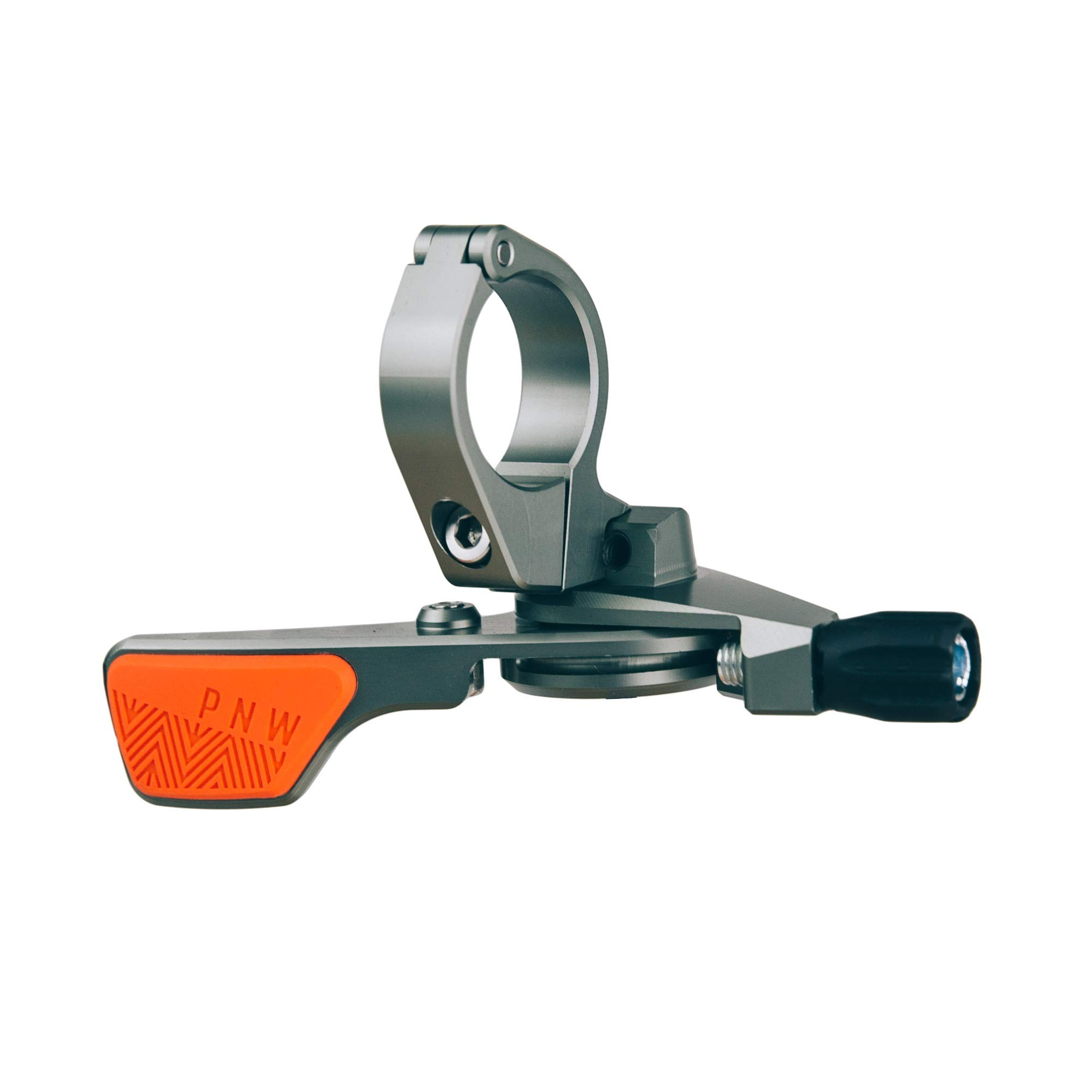 PNW Components Loam Lever Dropper Remote (Grey/Orange, Standard 22.2mm Clamp) by PNW Components