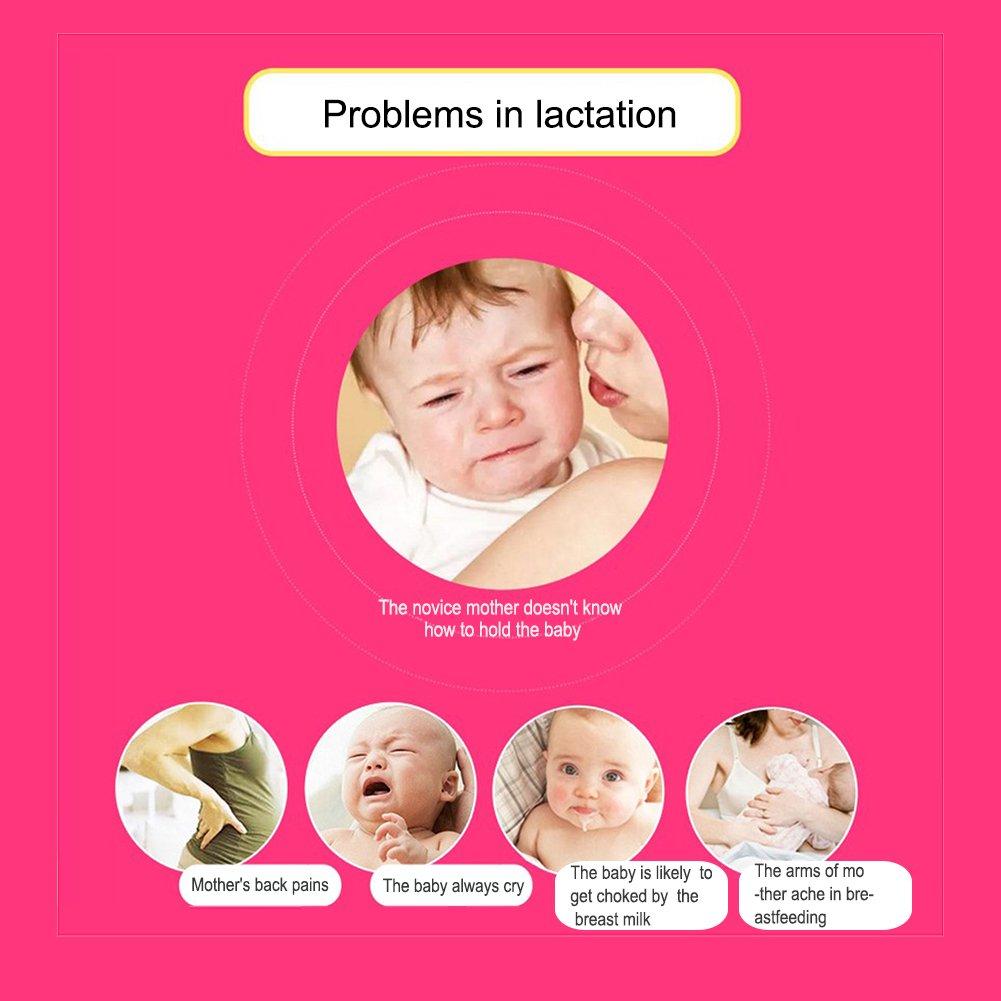Almohada de lactancia para beb/é Pueri c/ómoda ideal para embarazadas F