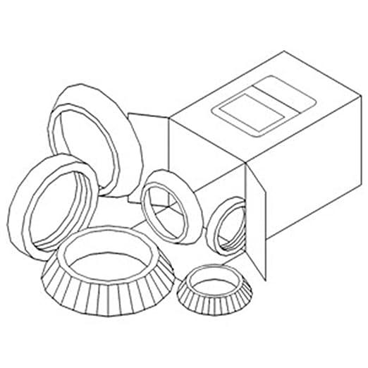 Amazon Com Wbkac8 New Wheel Bearing Kit For Allis Chalmers 5045
