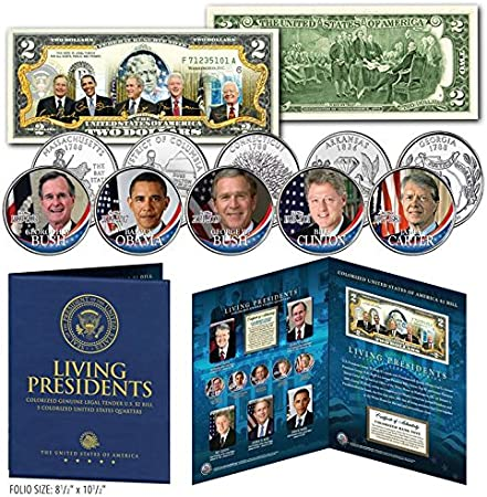 BARACK OBAMA Presidential Series #44 Genuine Legal Tender US $2 Bill