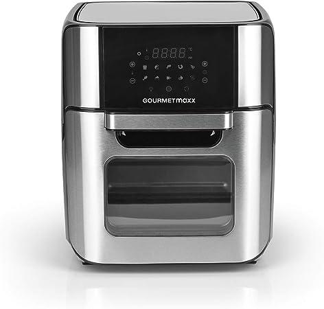 senza olio 5,5 l friggitrice ad aria calda 1800 W timer e regolatore di temperatura completamente regolabile con display digitale a LED XXL Friggitrice ad aria calda 7 programmi