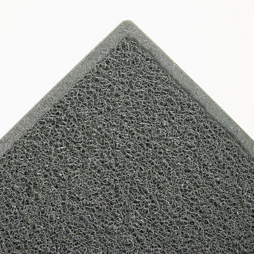 3M 34843 Dirt Stop Scraper Mat, Polypropylene, 48 x 72, Slate Gray