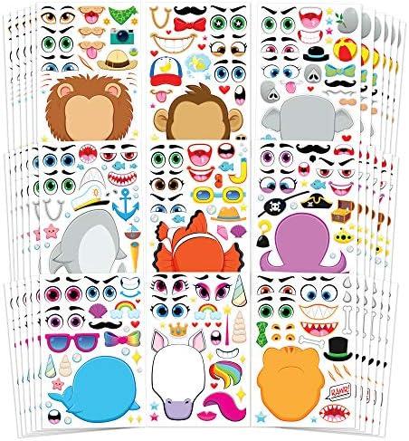 JOYIN Sticker Safaris Fantasy Supplies product image