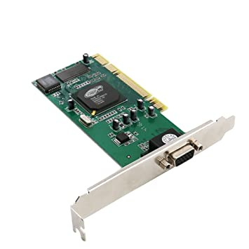 VGA Video Card,NeeKeons ATI Rage XL 8MB PCI VGA Video Card CL-XL-B41(1pack)