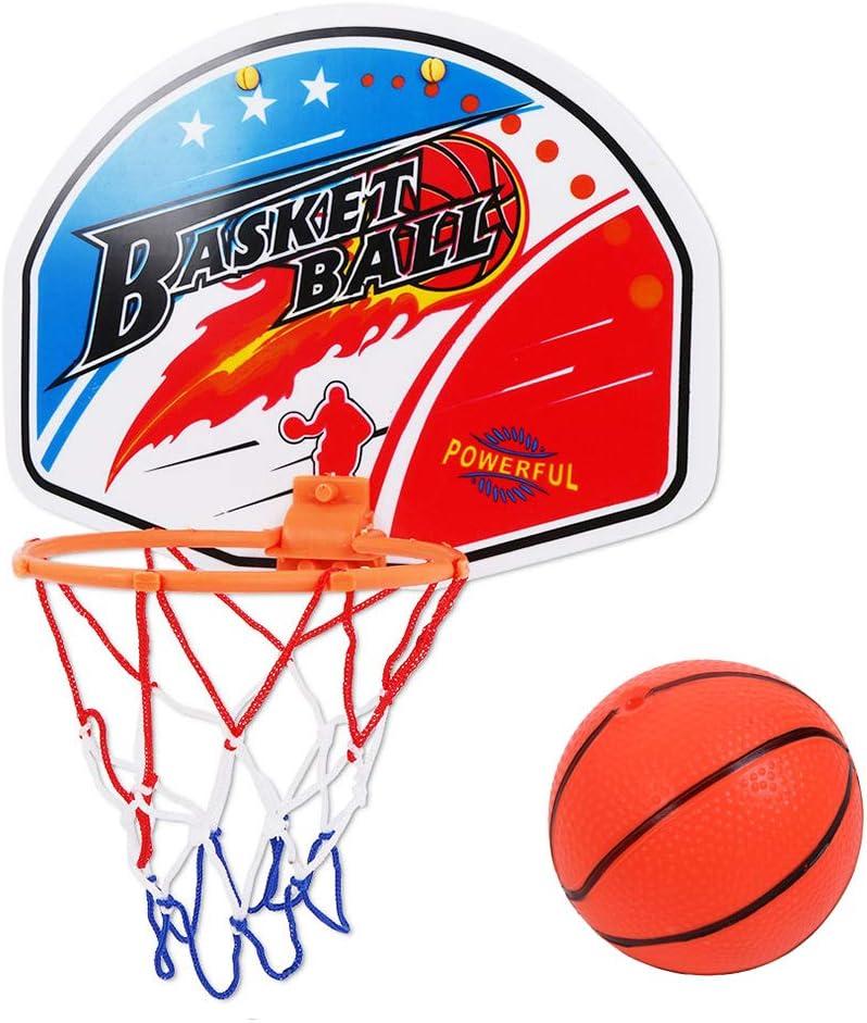 Miyanuby Basketballkorb Office Desktop Mini-Basketball Spielzeug f/ür Drau/ßen Drinnen Spiel f/ür Kinder Jungen M/ädchen und Basketball Liebhaber