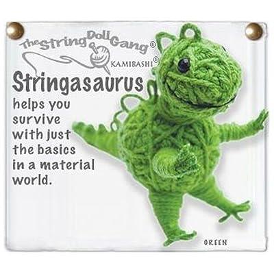 Kamibashi Stringasaurus the Dinosaur Original String Doll Gang Keychain Toy: Toys & Games