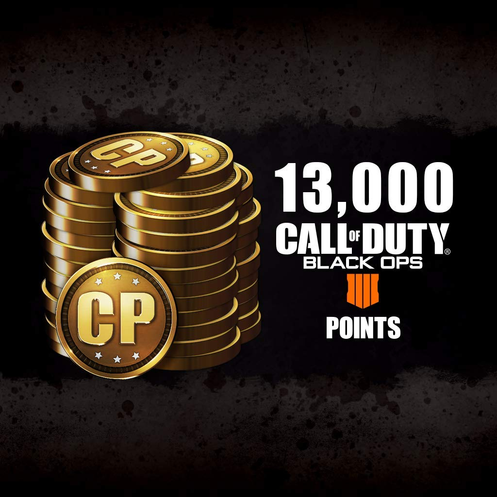 Call Of Duty: Black Ops 4 - Cod Points 13000 - PS4 [Digital Code]