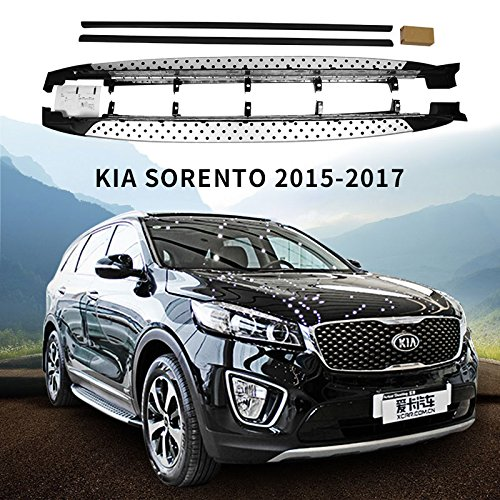 Side step fit for KIA Sorento 2015 2016 Running Board Nerf (Running Boards Kia Sorento)