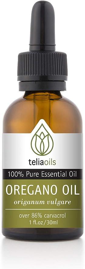 Amazon | Teliaoils 100% Organic Oil Of Oregano - Super Strength over 86%  Carvacrol - Pharmaceutical Grade Wild Oregano Oil from the mountains of  Greece - Undiluted, Certified, Pure Oregano Essential Oil - 1 oz |  Teliaoils | ドラッグストア