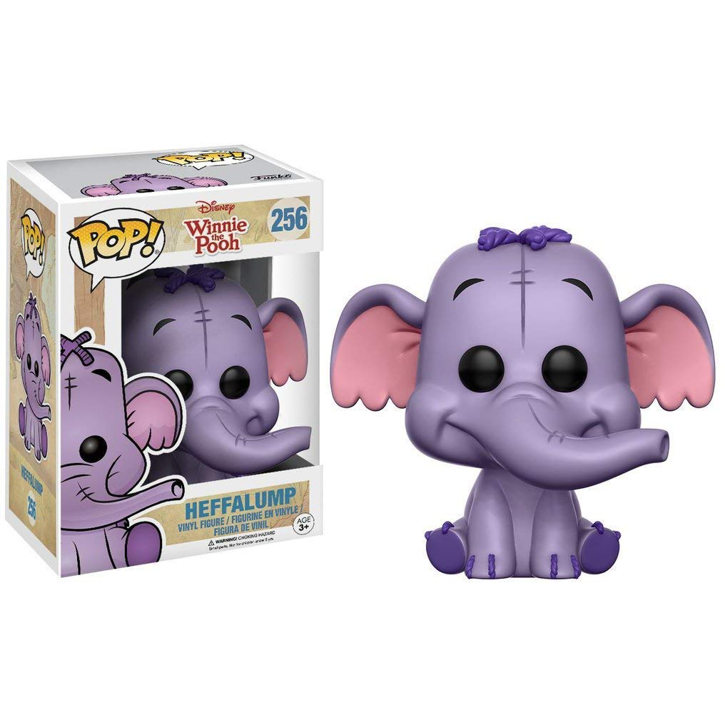 Winnie The Pooh x Funko POP Heffalump Disney Vinyl Figure /& 1 PET Plastic Graphical Protector Bundle #256 // 11263 - B