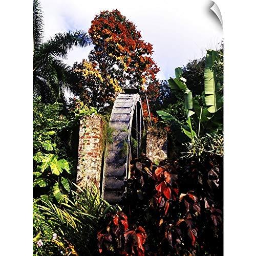 (CANVAS ON DEMAND Greg Johnston Wall Peel Wall Art Print Entitled Half Moon Resort, Montego Bay, Jamaica 12