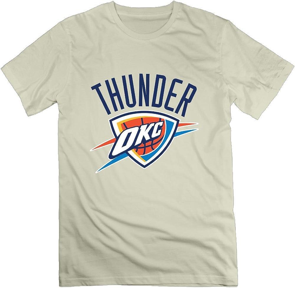 Oklahoma City Thunder o cuello hombre normal Fit camiseta ...