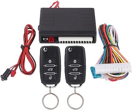 Keenso Universal Keyless Entry System Kit Zentralverriegelung Das Zentrale Türschloss Set Auto